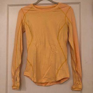 Lululemon Yellow Long Sleeve